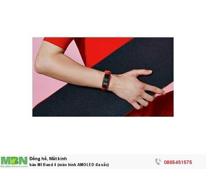 bán MI Band 4 (màn hình AMOLED đa sắc)3
