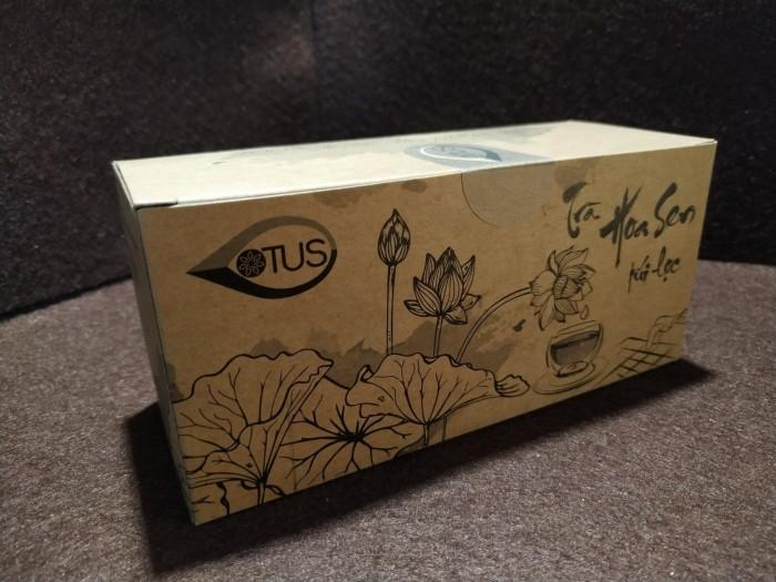 Trà hoa sen Huế - 25 túi lọc - Giúp an thần, ngủ ngon3