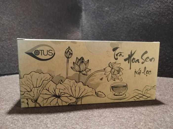 Trà hoa sen Huế - 25 túi lọc - Giúp an thần, ngủ ngon4