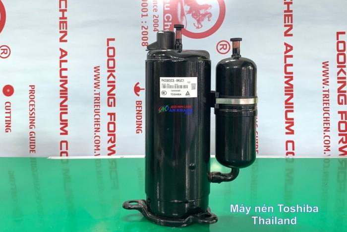 Phân phối lốc máy nén lạnh Toshiba 1HP, 1,5HP, 2HP, 2,5HP, 3HP giao hàng toàn quốc, giá ưu đãi2