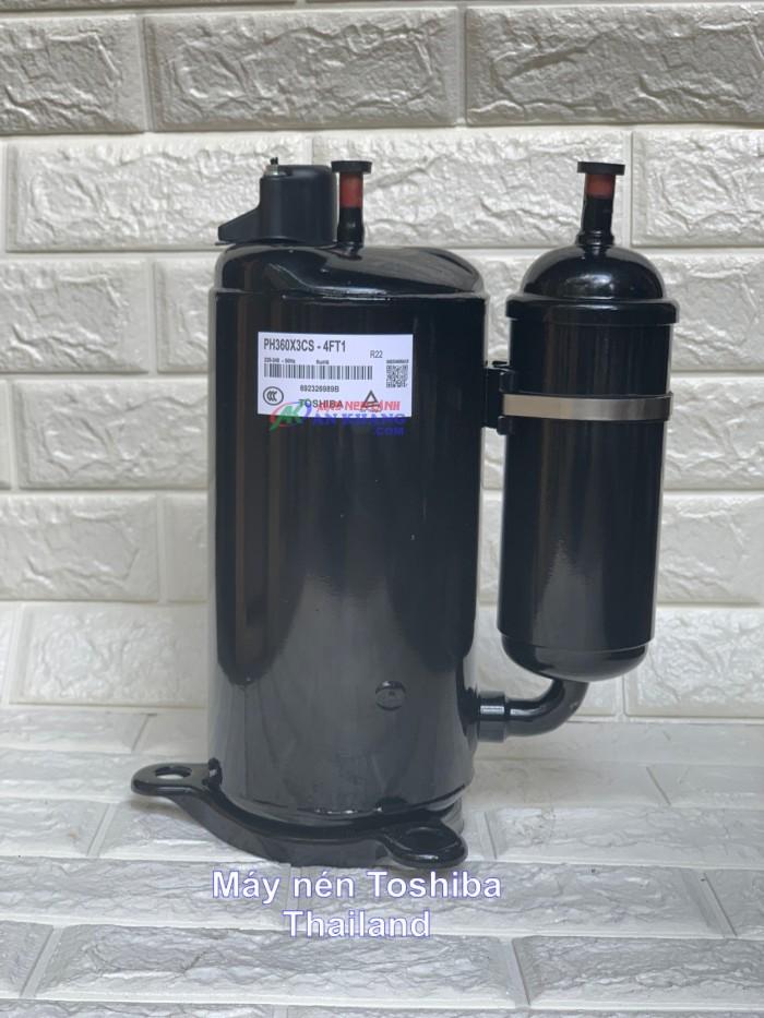 Phân phối lốc máy nén lạnh Toshiba 1HP, 1,5HP, 2HP, 2,5HP, 3HP giao hàng toàn quốc, giá ưu đãi0