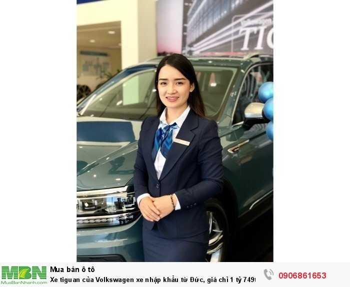 Xe tiguan của Volkswagen xe nhập khẩu từ Đức, giá chỉ 1 tỷ 749tr