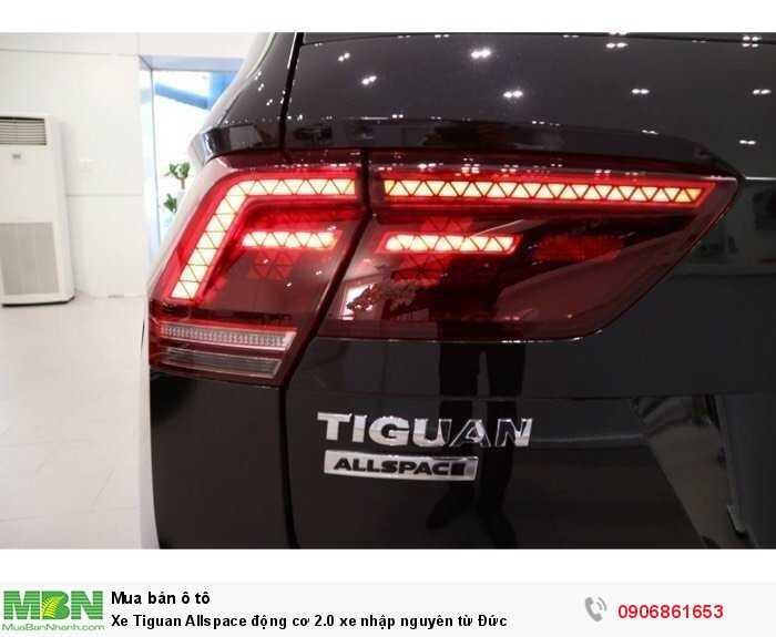 Xe Tiguan Allspace động cơ 2.0 xe nhập nguyên từ Đức