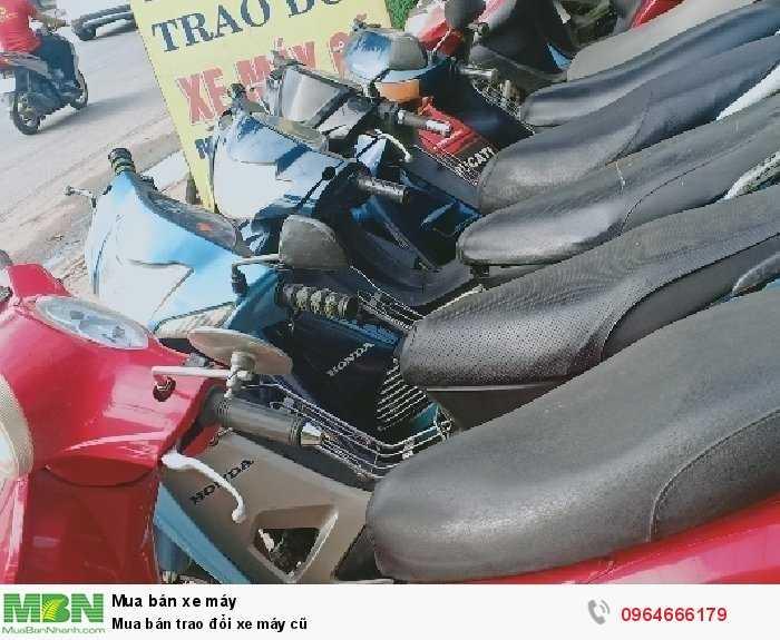 Mua bán trao đổi xe máy cũ 0