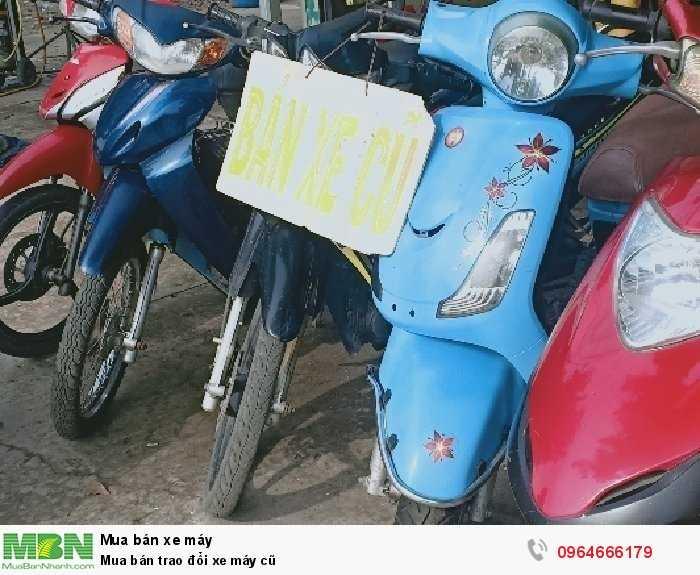 Mua bán trao đổi xe máy cũ 2