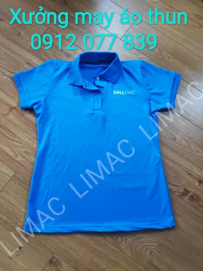áo đồng phục công ty màu xanh