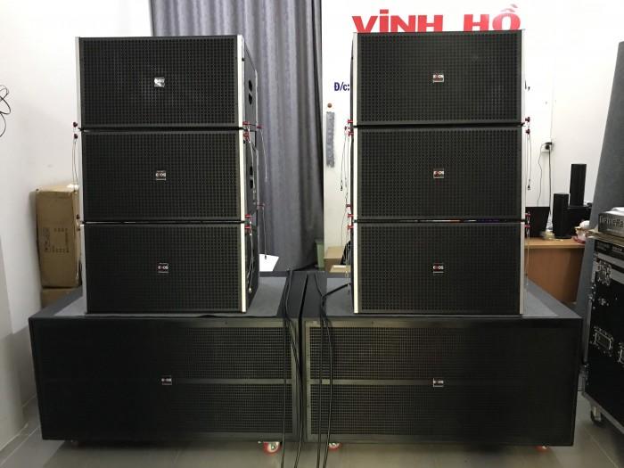 Dàn âm thanh Line Array 40 đơn, đồng bộ từ NEO chính hãng ENOS, Bao Hay5
