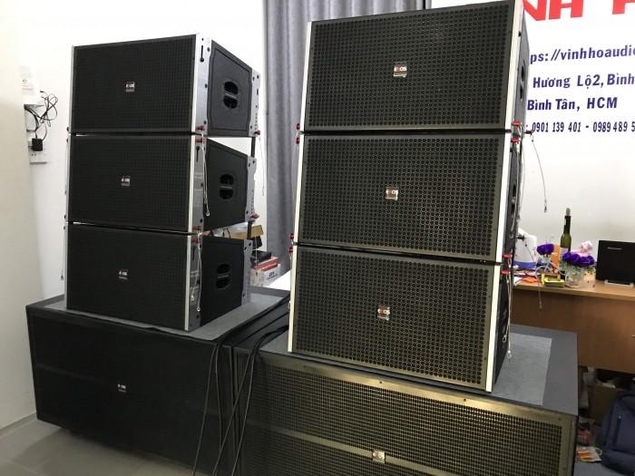 Dàn âm thanh Line Array 40 đơn, đồng bộ từ NEO chính hãng ENOS, Bao Hay4