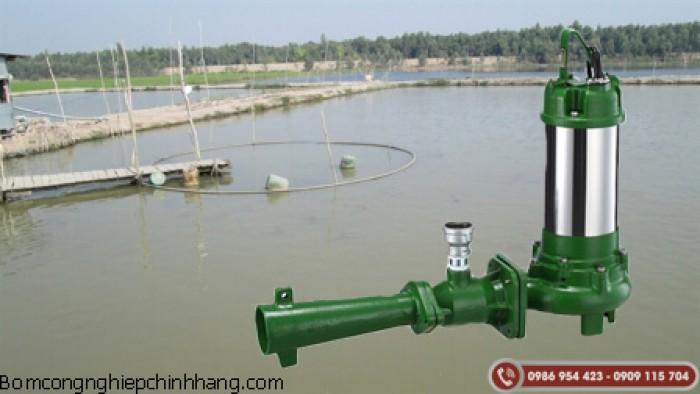 Máy bơm chìm sục khí ao hồ chuyên dùng trong nông nghiệp0