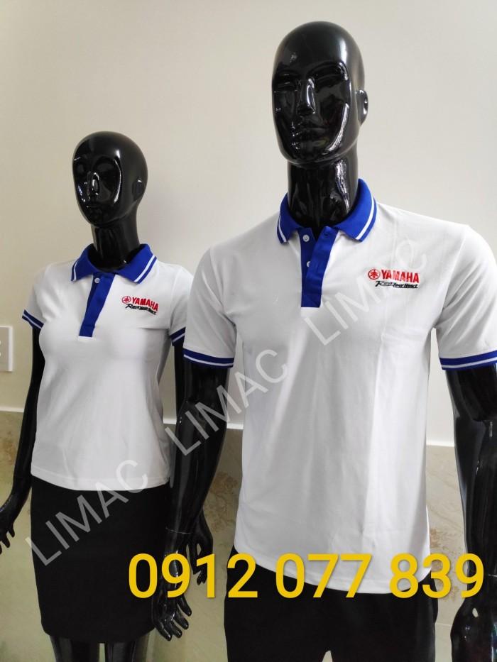 áo thun nhân viên yamaha nam nữ