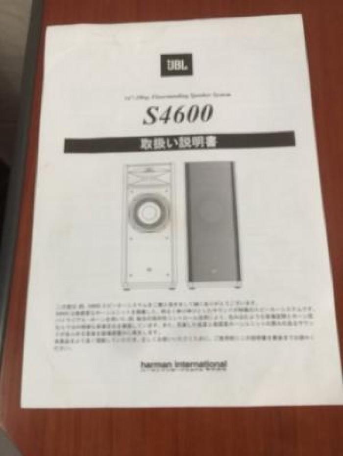 Chuyên bán Loa JBL S4600 (USA) hàng đẹp Long lanh3