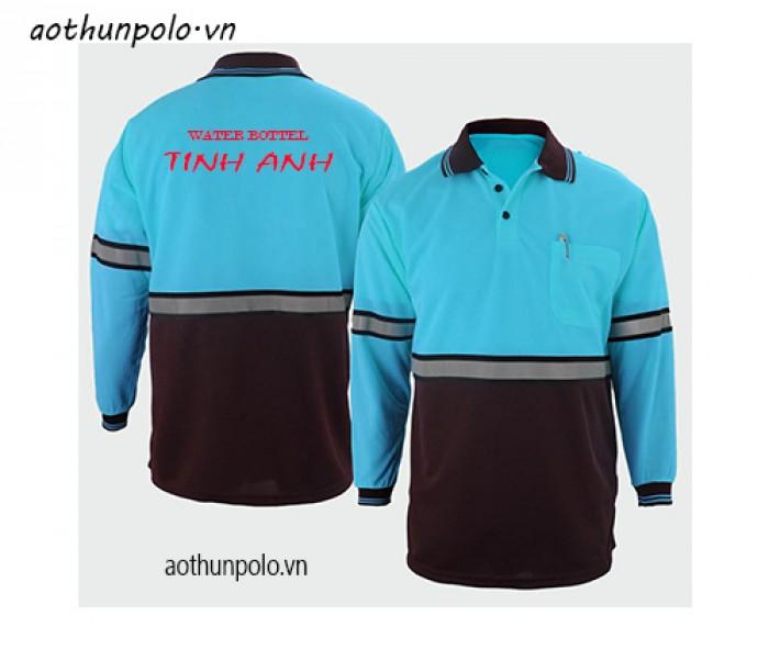 Xưởng may áo thun vải mè in thêu logo làm quà tặng giá rẻ cho các doanh nghiệp hoạt động trong các lĩnh vực xăng dầu, phân bón,
