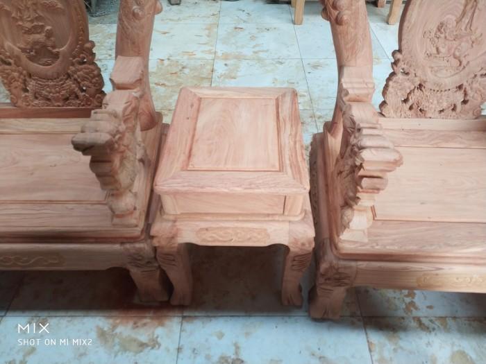Bộ bàn ghế rồng phượng,rồng mai gỗ hương đá11