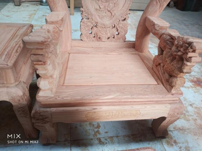 Bộ bàn ghế rồng phượng,rồng mai gỗ hương đá6