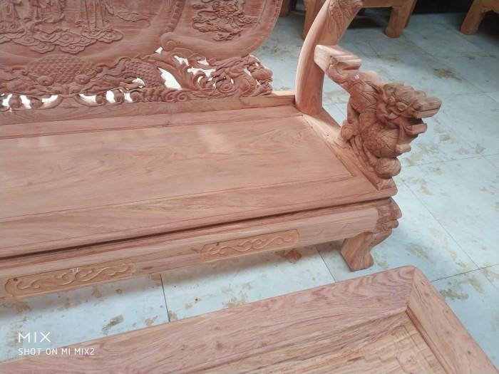 Bộ bàn ghế rồng phượng,rồng mai gỗ hương đá4