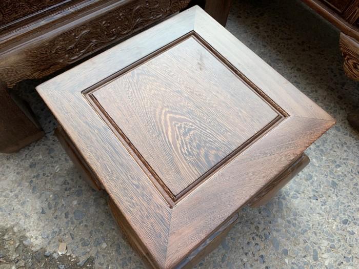 Bộ bàn ghế tần thủy hoàng gỗ mun đuôi công Cột 148