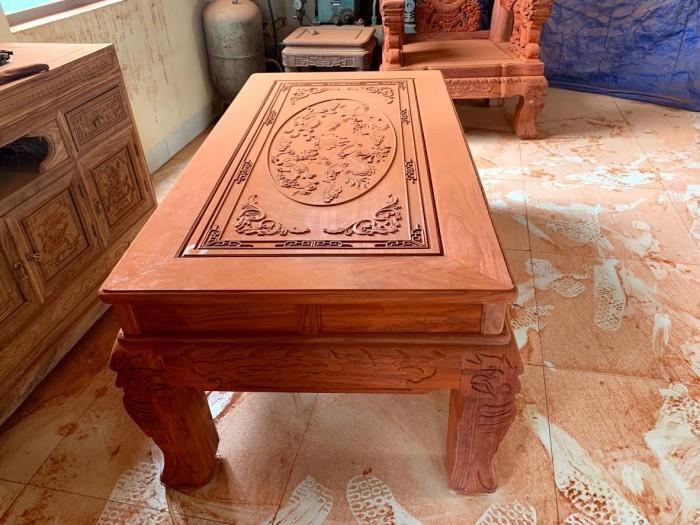 Bộ bàn ghế nghê đỉnh gỗ hương đỏ nam phi21