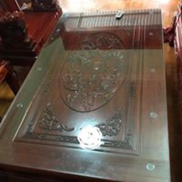 Bộ bàn ghế nghê đỉnh gỗ hương đỏ nam phi4