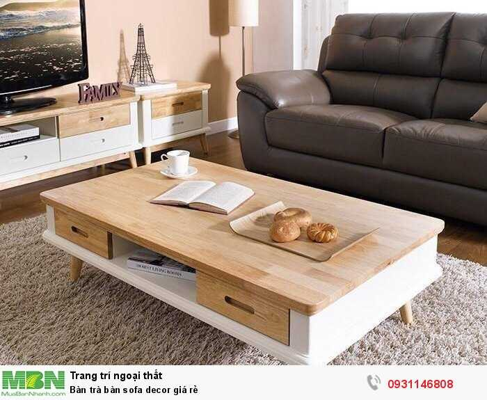 Bàn trà bàn sofa decor giá rẻ0