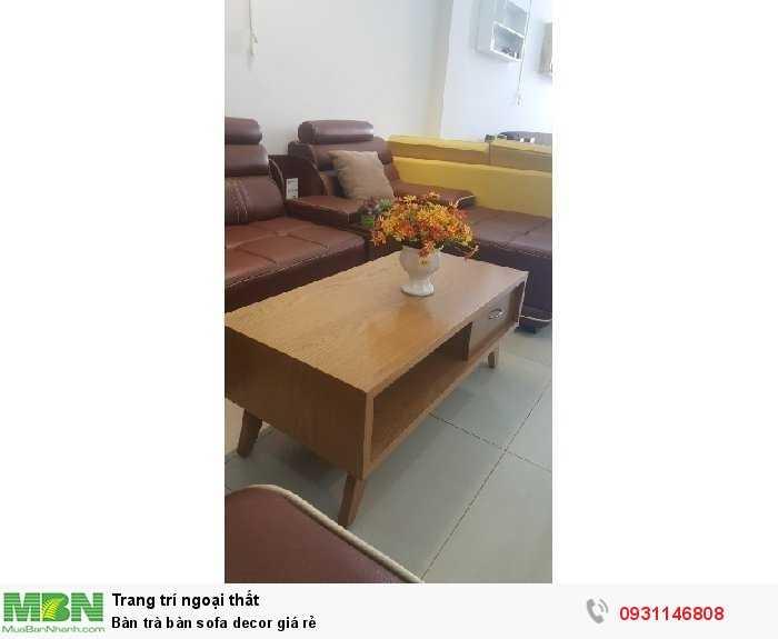 Bàn trà bàn sofa decor giá rẻ1