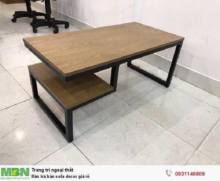 Bàn trà bàn sofa decor giá rẻ3