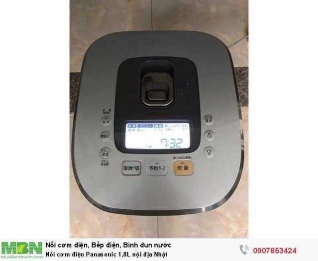 Nồi cơm điện Panasonic 1L & 1,8L nội địa Nhật0