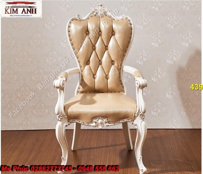 bàn ghế gỗ tân cổ điển Long An20