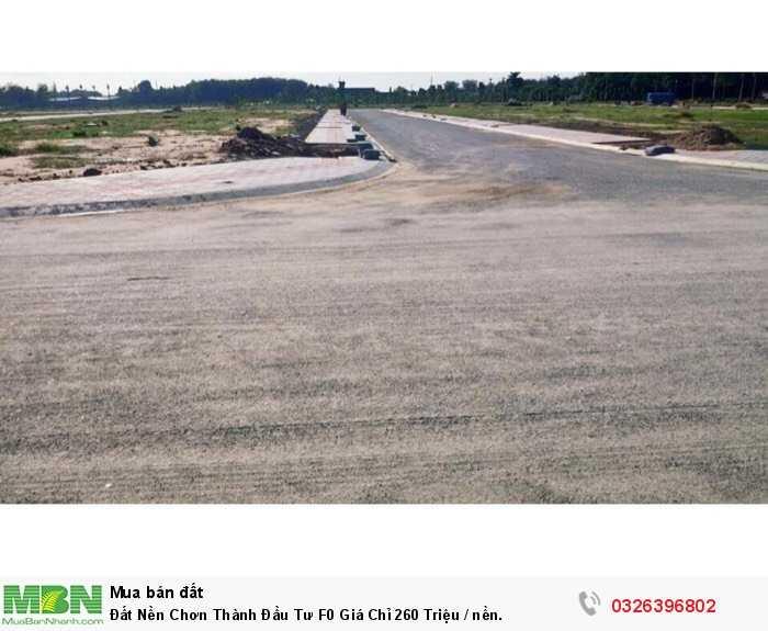 Đất Nền Chơn Thành Đầu Tư F0 Giá Chỉ 260 Triệu / nền.