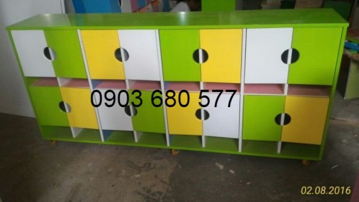 Tủ mầm non cho trẻ em giá rẻ bất ngờ, mua ngay kẻo lỡ