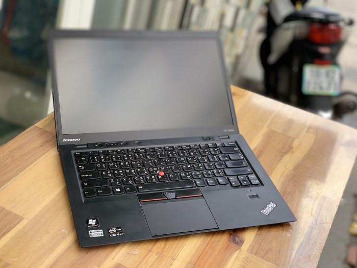 Laptop Lenovo Thinkpad X1 Carbon, i7 3667U 8G SSD256 Đèn phím HD+ Siêu mỏng đẹp zin 100% giá rẻ0