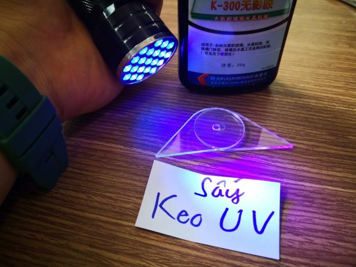 Đèn UV 21 Bóng Led Soi Tiền , Sấy Keo UV4