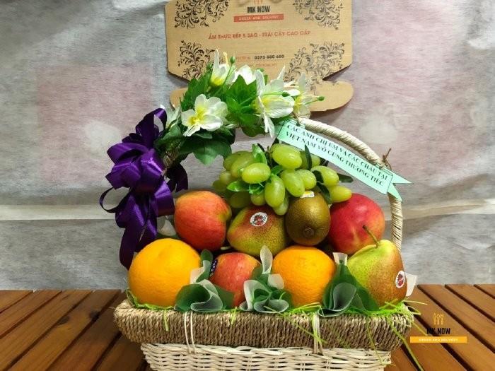 Giỏ hoa quả thắp hương - FSNK860