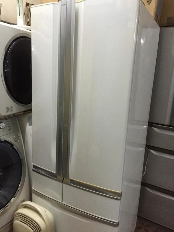 Tủ lạnh Toshiba GR-A51R(W), 511L
