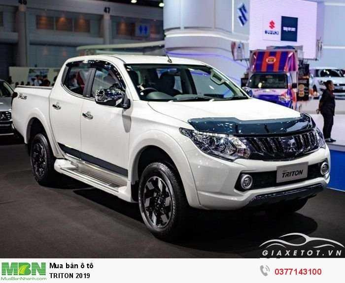 Mitsubishi Triton sản xuất năm 2019 Số tự động Dầu diesel