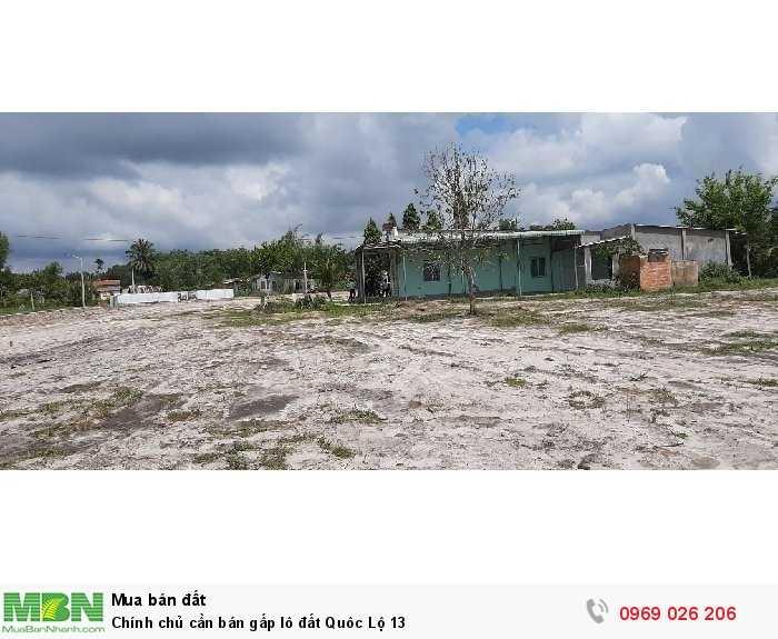 Chính chủ cần bán gấp lô đất Quôc Lộ 13