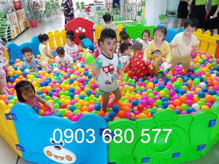 Nhà banh trong nhà trẻ em giá rẻ, chất lượng nhất4