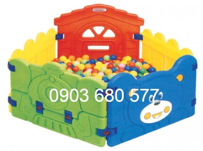 Nhà banh trong nhà trẻ em giá rẻ, chất lượng nhất2