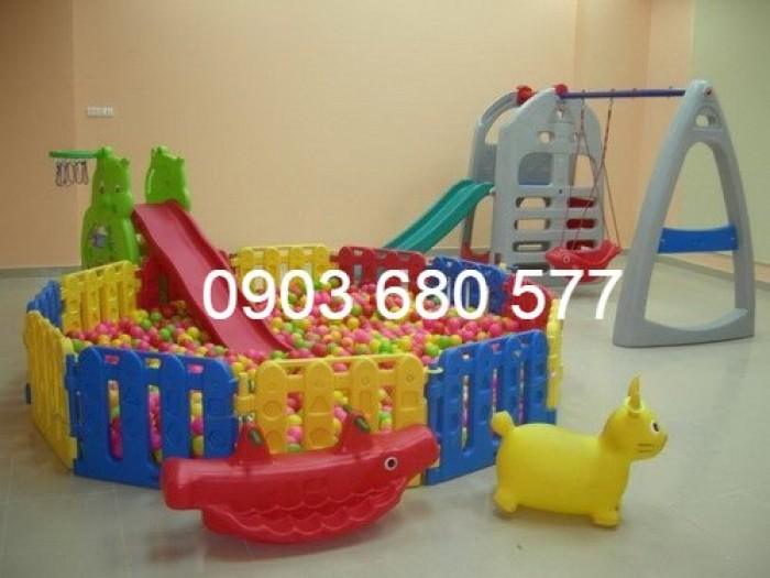 Nhà banh trong nhà trẻ em giá rẻ, chất lượng nhất3