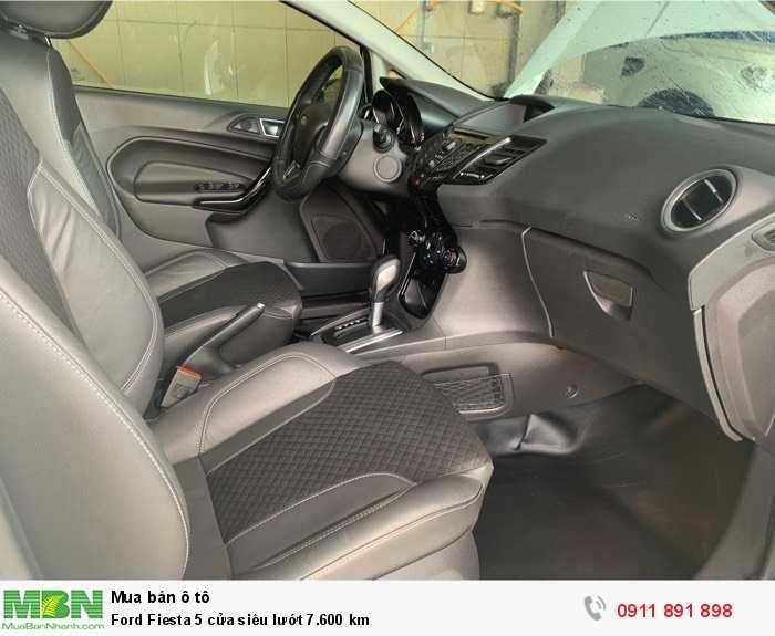 Ford Fiesta 5 cửa siêu lướt 7.600 km