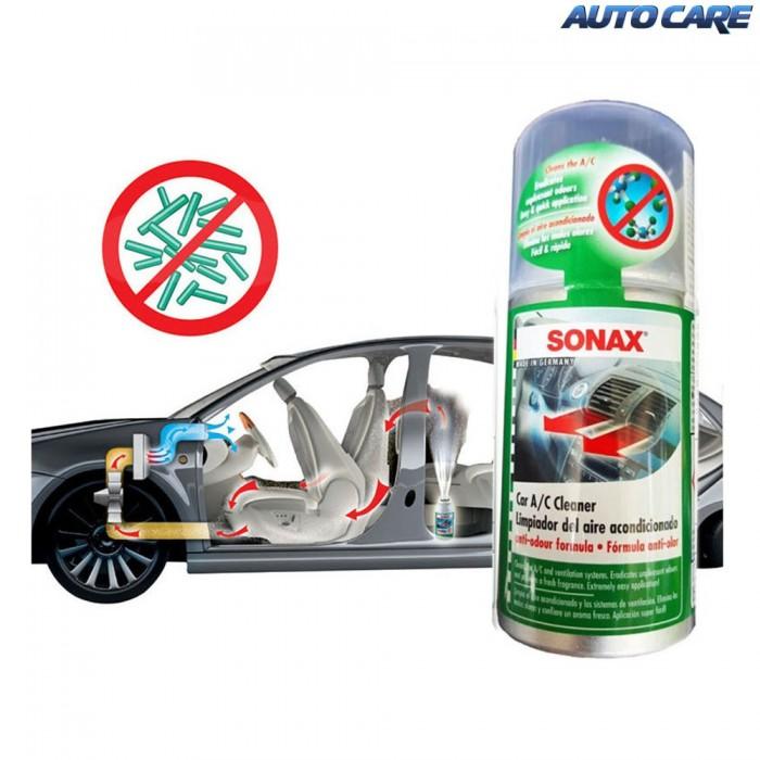 Khử Mùi, Diệt Nấm Mốc Dàn Lạnh Ô Tô Sonax A/C Cleaner 323 100 (100ml) 6