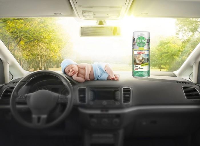 Khử Mùi, Diệt Nấm Mốc Dàn Lạnh Ô Tô Sonax A/C Cleaner 323 100 (100ml) 4