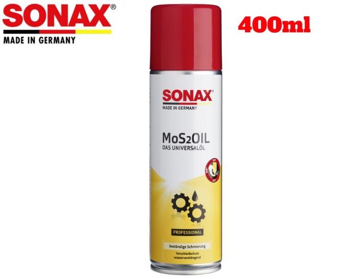 Chai Xịt Bảo Vệ Chống Rỉ Sét Sonax MOS 2 Oil 339400 là sản phẩm hóa chất bảo dưỡng tuyệt vời dành cho xe máy, xe ô tô, do hãng Sonax của Đức sản xuất