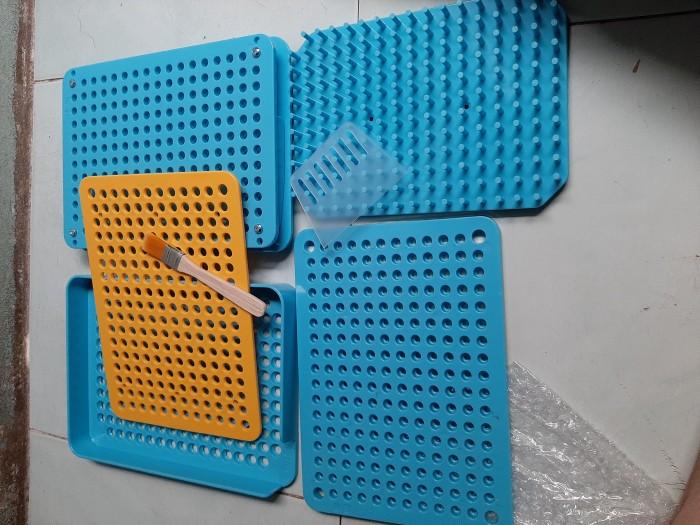 Khuôn đóng viên nhộng 200v vỏ nhựa, khay vô bột thuốc vào vỏ nhộng thủ công0
