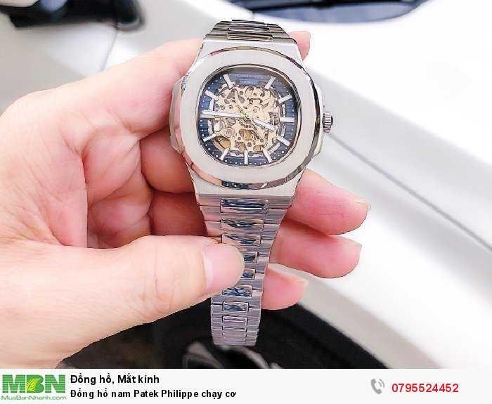 Đồng hồ nam Patek Philippe chạy cơ2