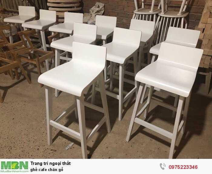 Ghế quầy gỗ đẹp giá tại xưởng Nội Thất Quang Đại2