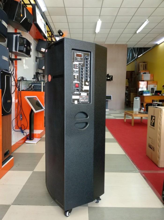 Loa kéo Hoxen L60H (4 tấc 2 Bass thùng gỗ) - Kích thước:  ( C x S x N ) 122 x 40 x 43cm - Trọng lượng: 30kg3