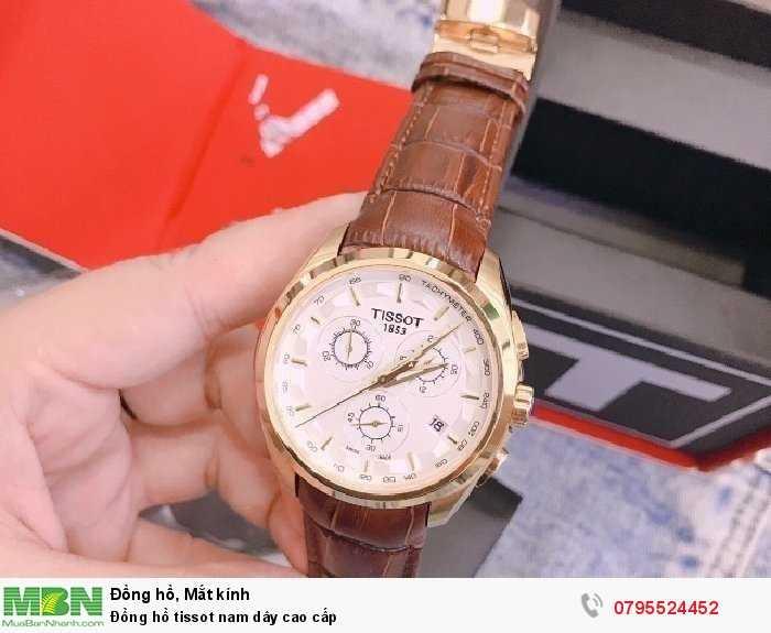 Đồng hồ tissot nam dây cao cấp0