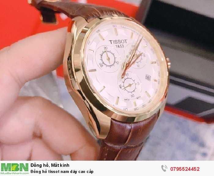 Đồng hồ tissot nam dây cao cấp1