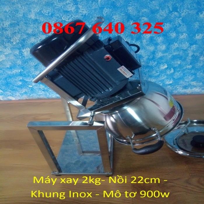 Máy xay thịt cá loại 2kg/mẻ khung inox3