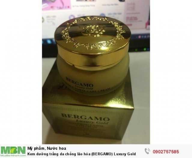 Kem dưỡng trắng da chống lão hóa (BERGAMO) Luxury Gold0